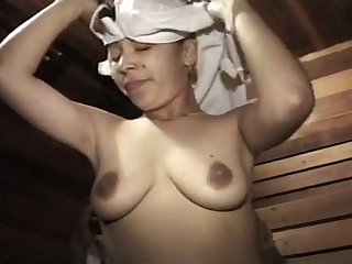 Lusty amateur GF with big nipples is so oversexed on every side riding distinct cock