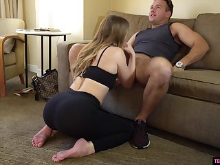 Obese bottomed girl Kenzie Madison is fucked by hot blooded Chad Vapid