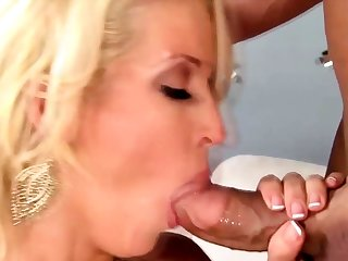 Blonde milf housewife with her amazing sweetheart