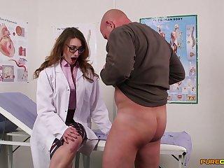 Nurses seem involving than prepared for a serious CFNM cock sharing XXX
