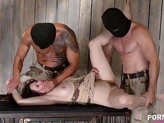 XXXtreme BDSM humiliation makes subby Samantha Bentley scream & cream GP908