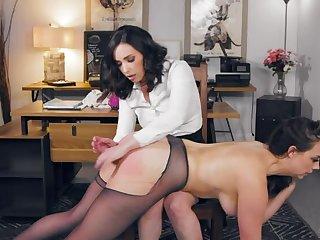 Lady Boss: Non-native Secretary To Floss