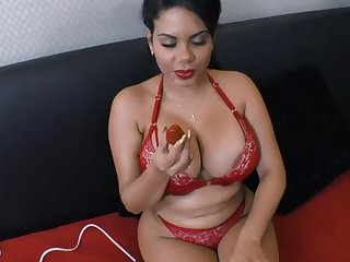 South American Superstar Kesha Ortega Makes a Lucky Impoverish Cum Doubled in POV