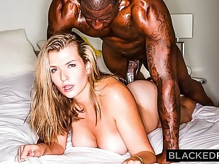 BLACKEDRAW Curvy Beauty Hooks Stumble upon BBC After Party