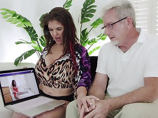 POV homemade dusting of busty Coralyn Jewel riding a large dick