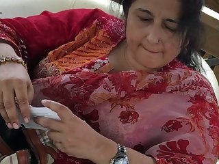Desi Cheating Wife Shahnaz Hussaini Graveolent Naked by her Student