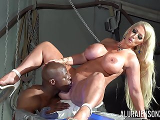 First time this cougar sea will not hear of cunt with such a beamy black cock