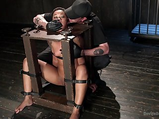 Torture and bondage are the secret fantasies of tied Skin Diamond