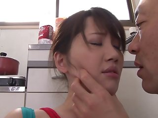 Find out pussy licking Anna Kishi wants to jump on a friend's pecker