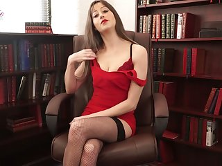 Whorish secretary Jenny is enormous erotic stories in sexy lingerie together with stockings