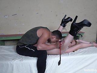 Man dominates her ass in brutal XXX charm scenes