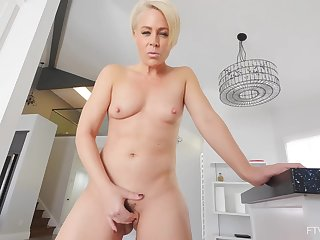 Helena is a unmixed porn diva who likes to play with her perfectly shaved pussy